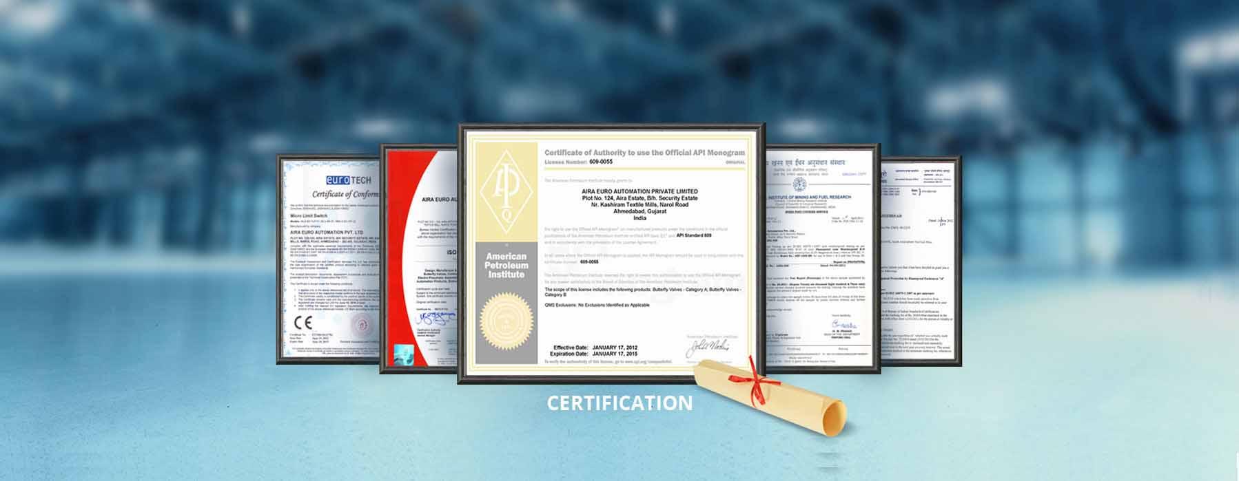 Aira's Certification